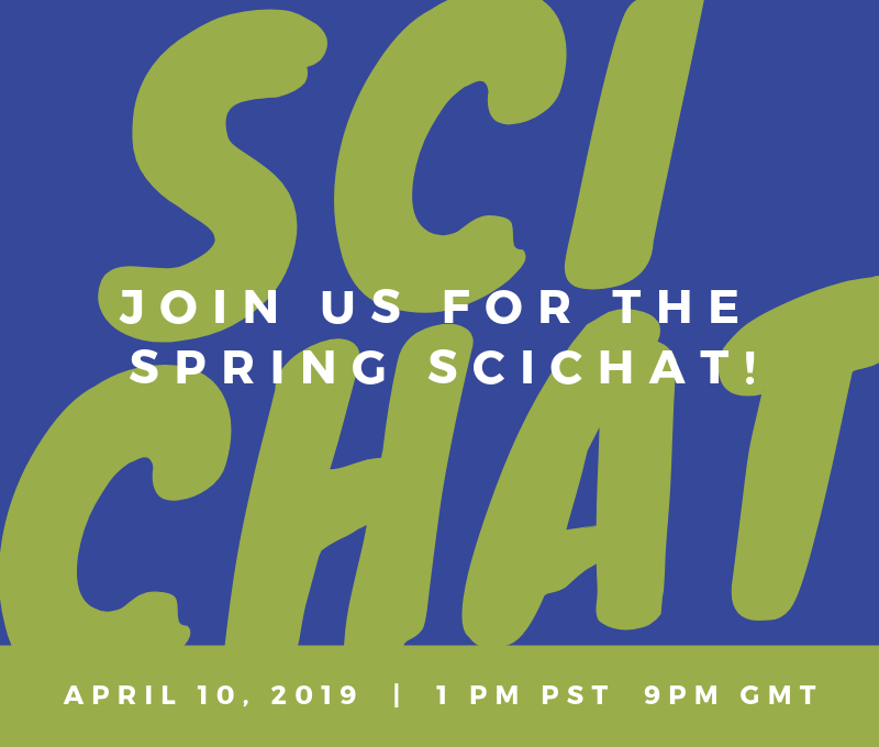 Science Chat April 10th in veteran chat